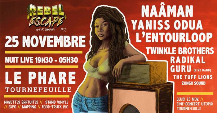 Rebel Escape #2 ce soir à Toulouse