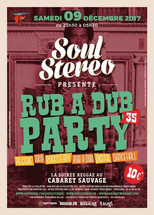 Rub A Dub Party #35 : places à gagner