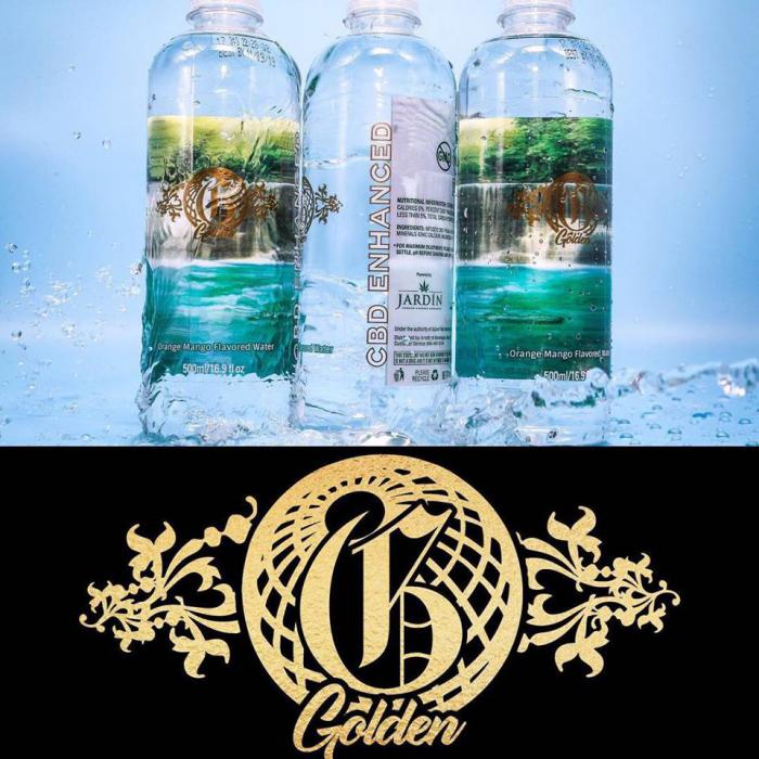 Morgan Heritage lance une eau à la weed !