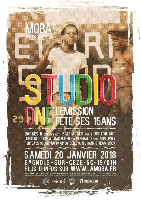 Studio One L'Emission fête ses 15 ans à La Moba