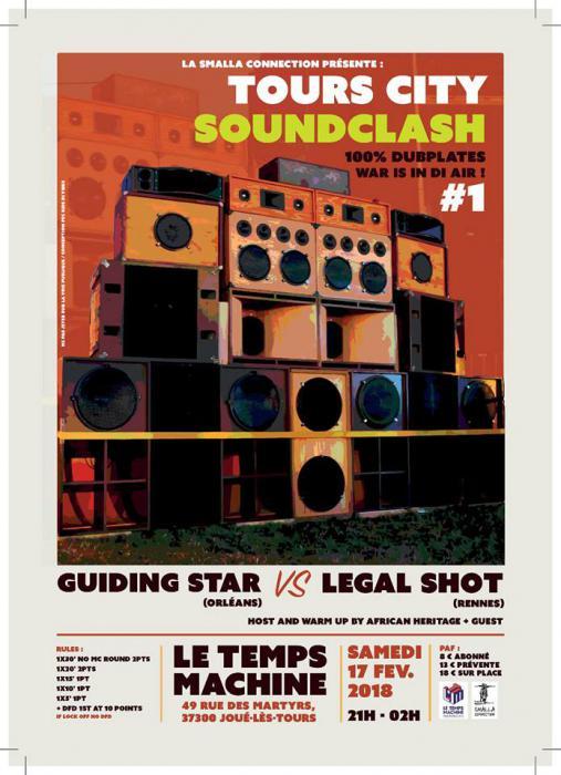 Legal Shot en clash contre Guiding Star à Tours