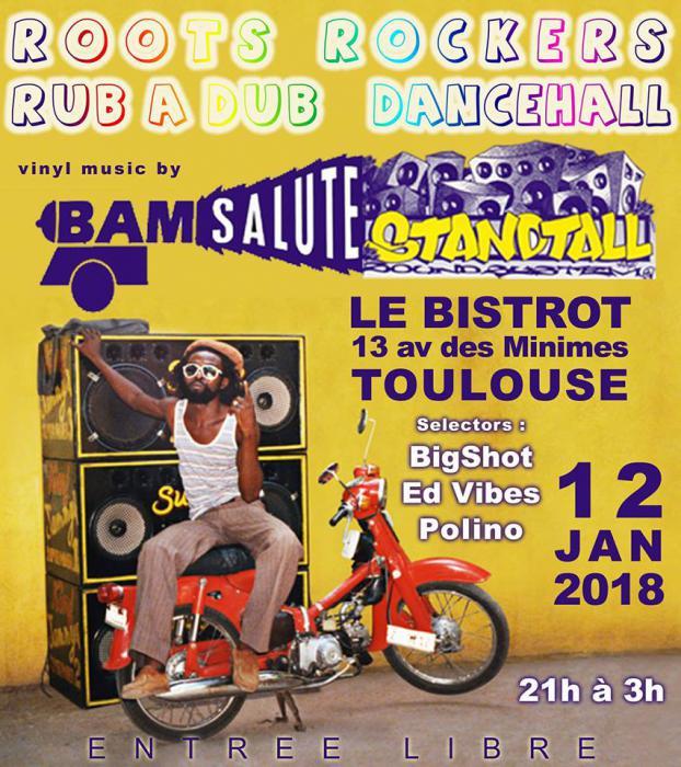 Bam Salute & Stand Tall à Toulouse vendredi