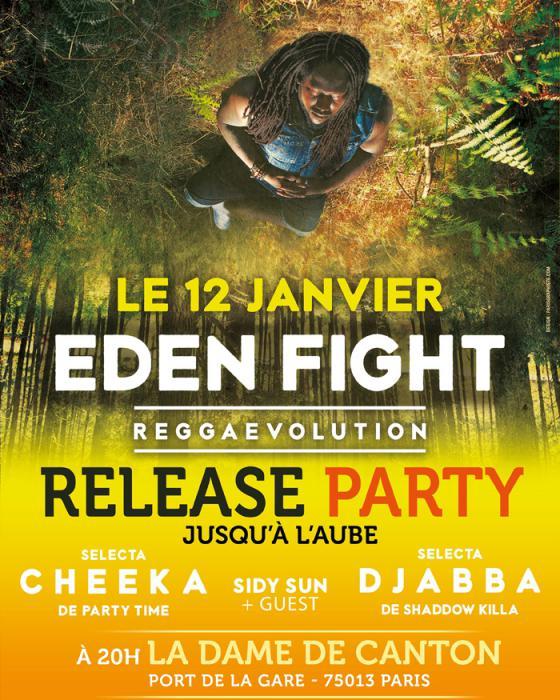 Eden Fight : Release Party à Paris