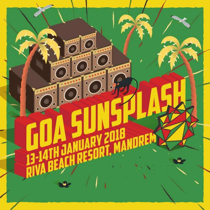 Goa Sunsplash ce week-end en Inde