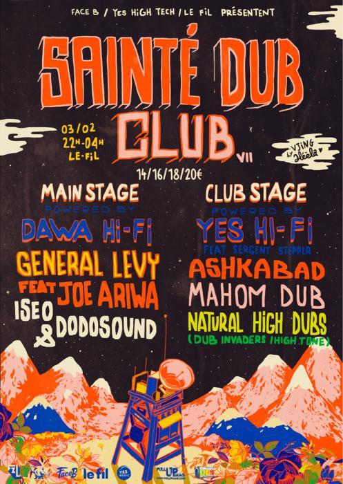 Sainté Dub Club #7 le 3 février