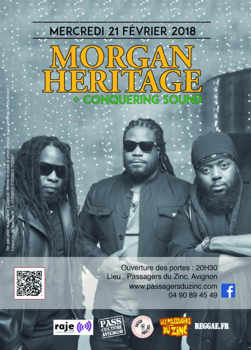 Morgan Heritage à Avignon : places à gagner