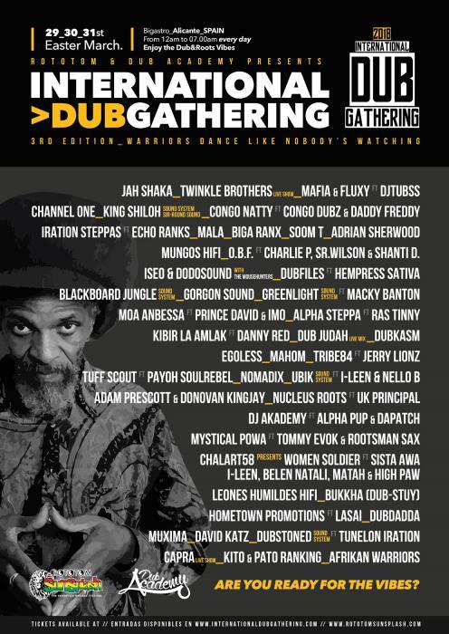 International Dub Gathering 2018 en Espagne
