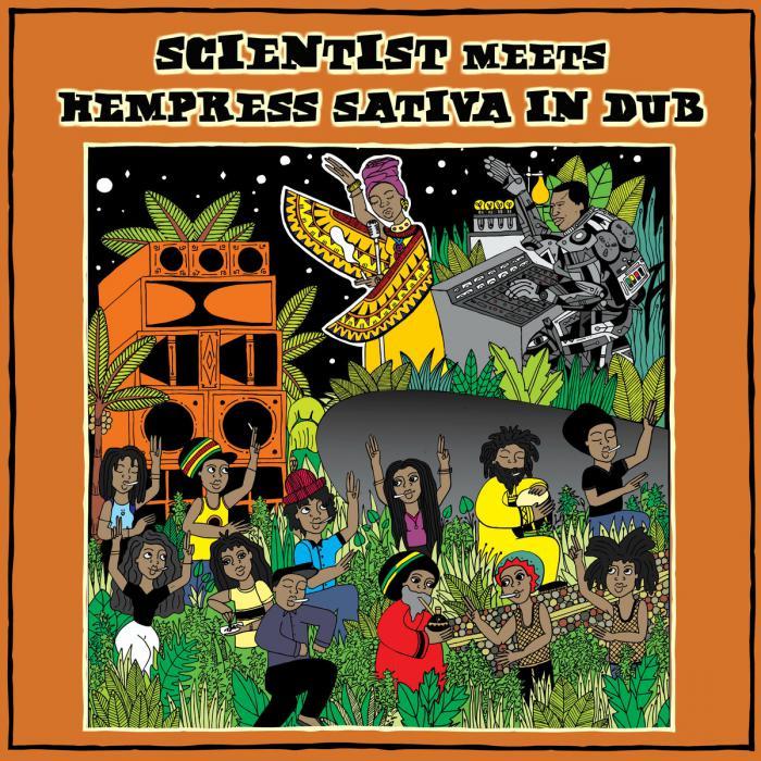 Hempress Sativa : un album dub avec Scientist