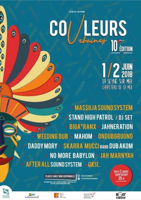 Festival Couleurs Urbaines en juin