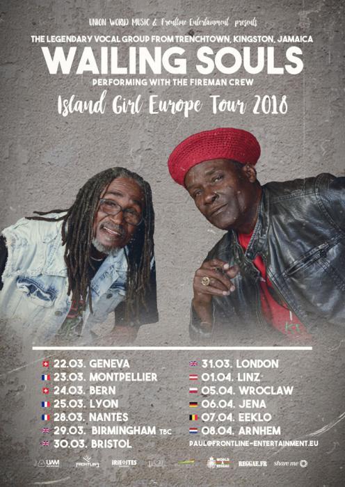 The Wailing Souls : 3 dates en France !