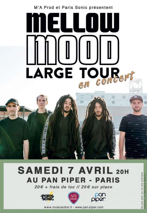Mellow Mood à Paris le 7 avril