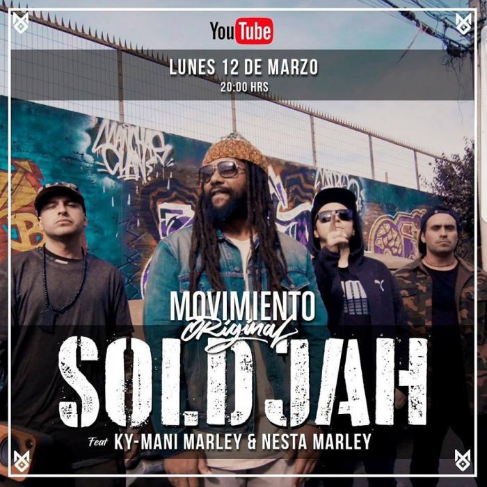 Ky-Mani Marley en feat avec un groupe chilien
