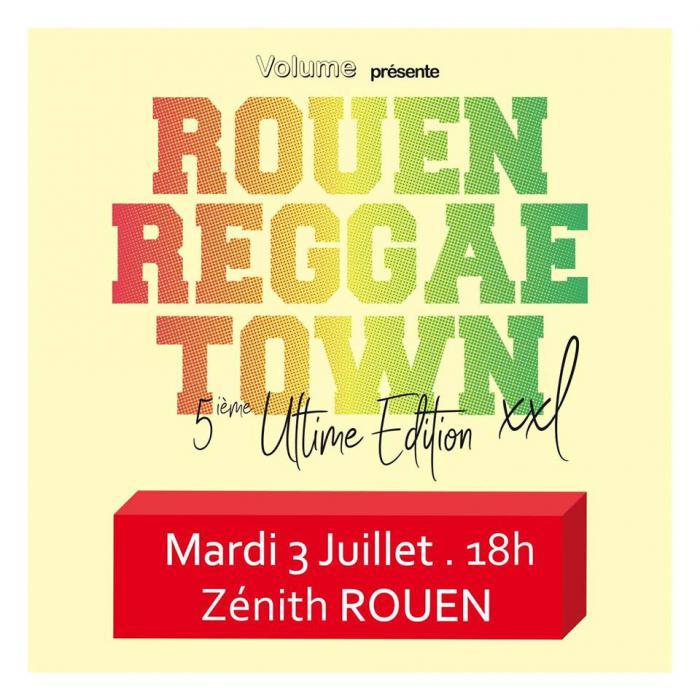 Belle prog pour le Rouen Reggae Town XXL