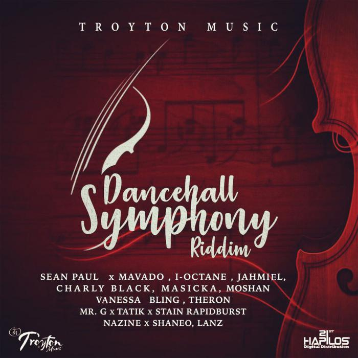 Dancehall Symphony Riddim chez Troyton Music