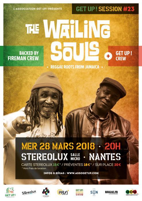 The Wailing Souls à Nantes