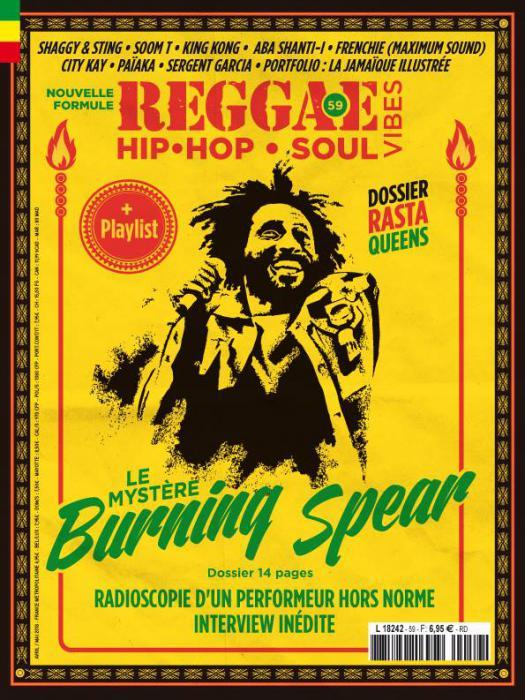 Reggae Vibes #59 en kiosque