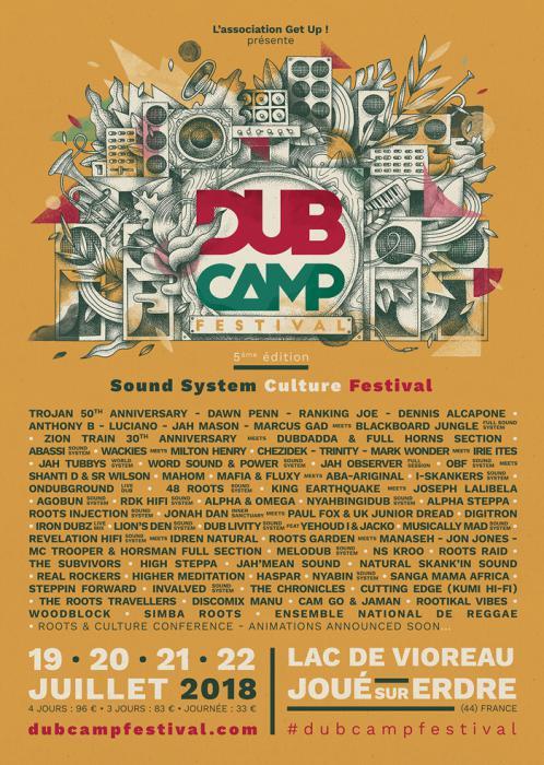 Dub Camp 2018 : toute la prog !