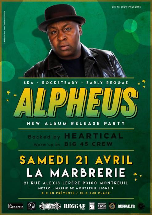 Alpheus : release party à Paris