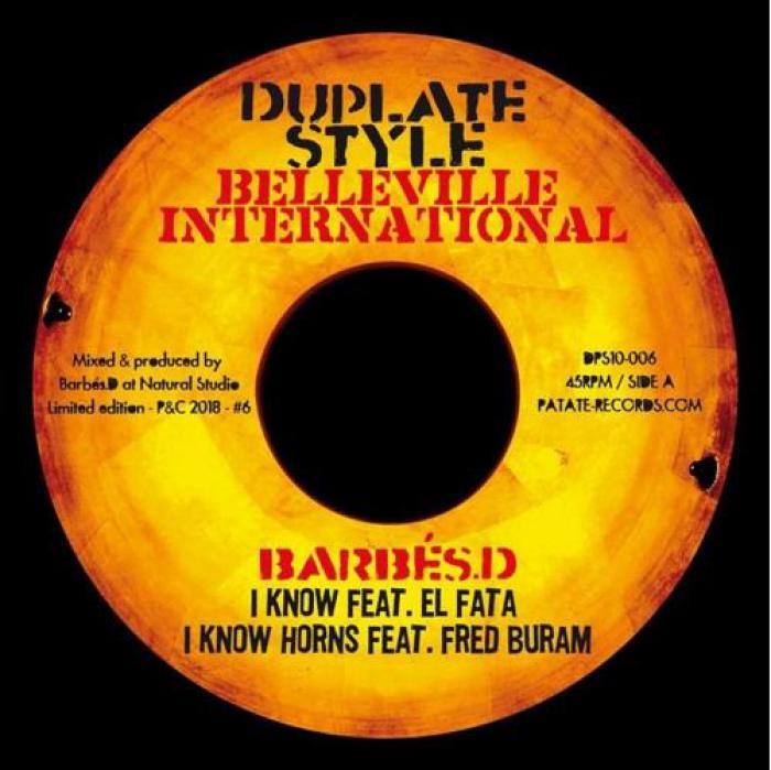 Barbès D : nouveau vinyle avec El Fata & Ras Mykha