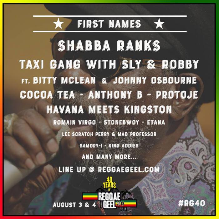 Shabba Ranks au Reggae Geel !
