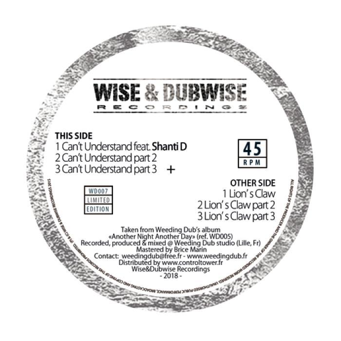 Weeding Dub : 2 nouveaux vinyles 12 pouces