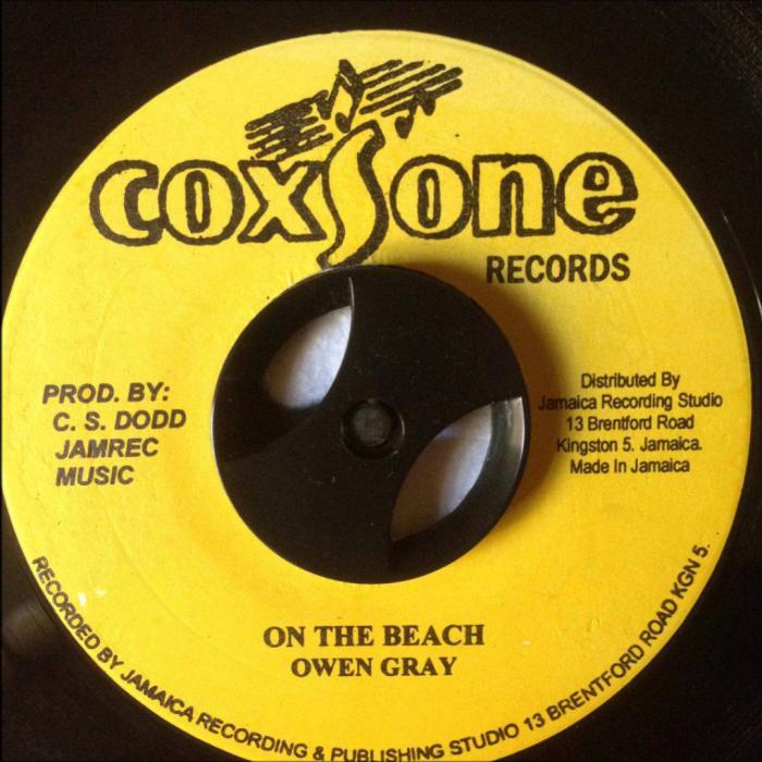 Morceau du jour : On the Beach d'Owen Gray