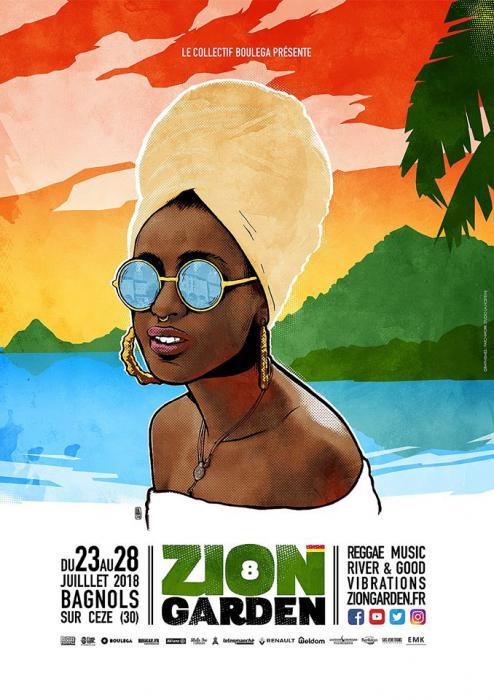 Les premiers noms du Zion Garden