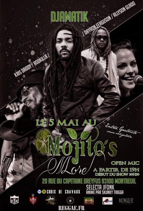 Djamatik en concert à Montreuil