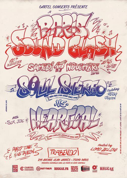 Soul Stereo vs Heartical en novembre