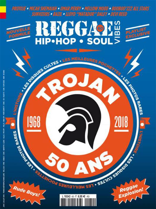 Reggae Vibes #60 en kiosque