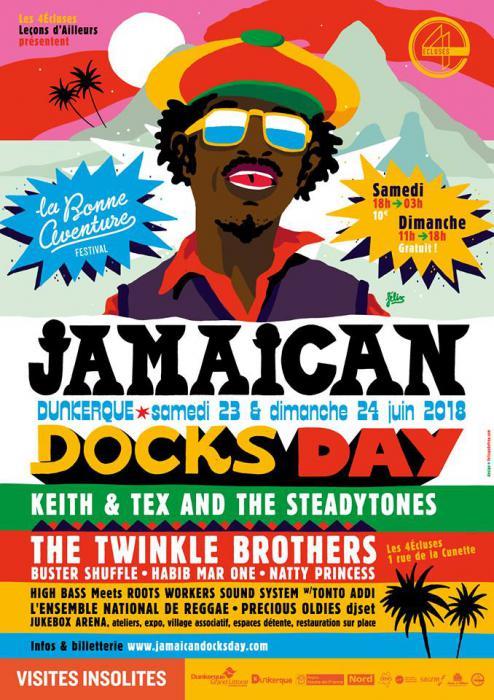 Jamaican Docks Day à Dunkerque