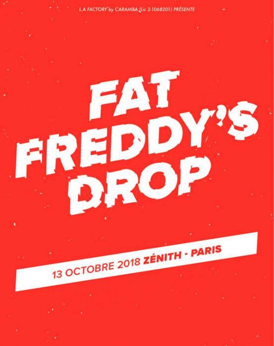 Fat Freddy's Drop au Zénith de Paris en octobre
