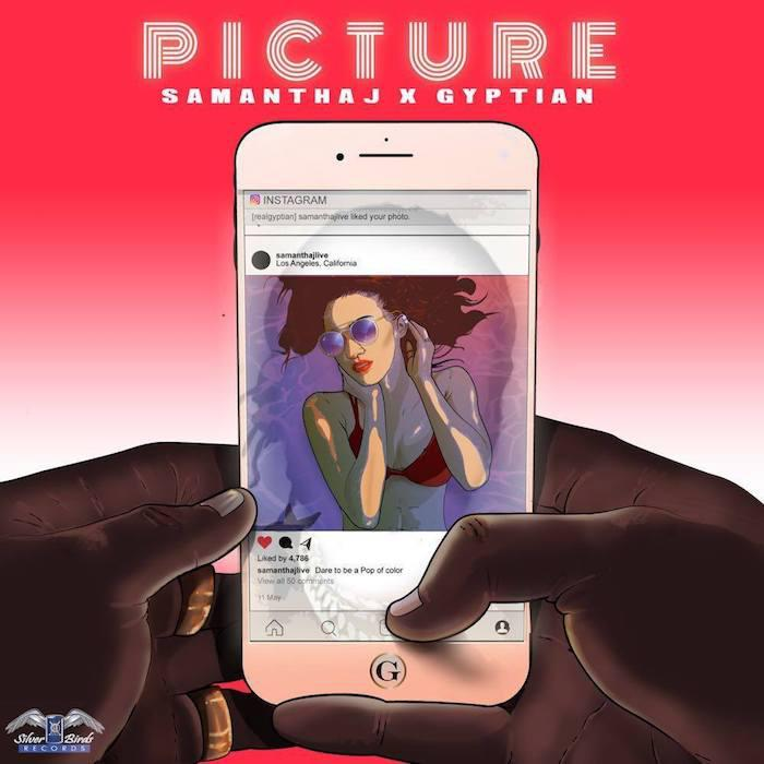 Samantha J x Gyptian : 'Picture' clip