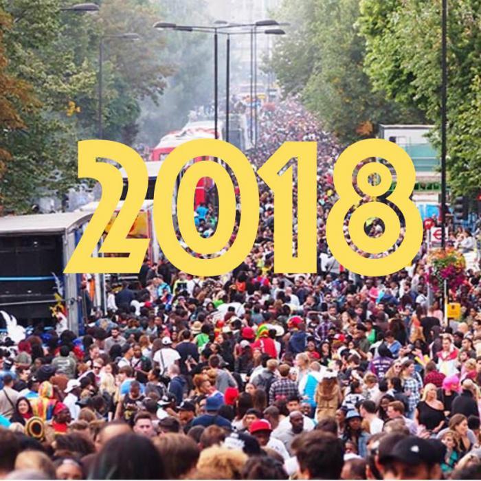Carnaval de Notting Hill 2018