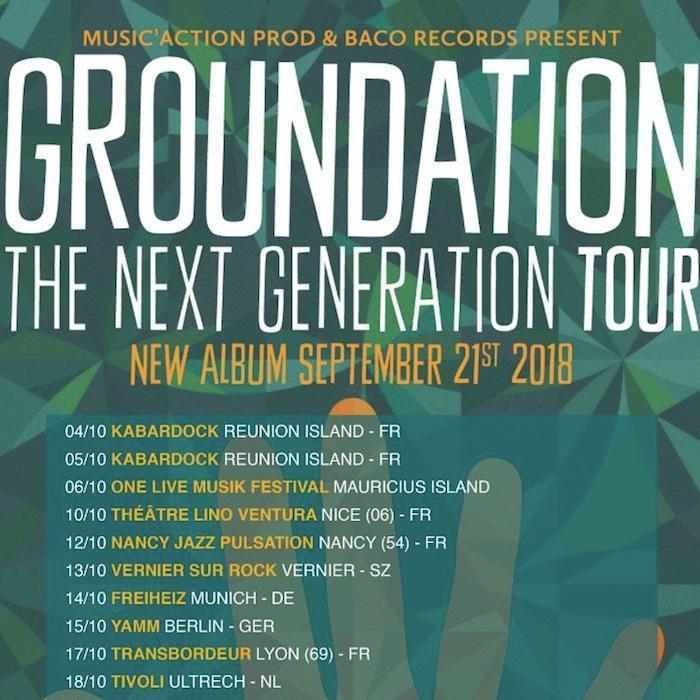 Groundation sur les routes avec un nouvel album