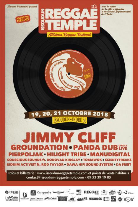 Jimmy Cliff au festival Issoudun Reggae Temple #6