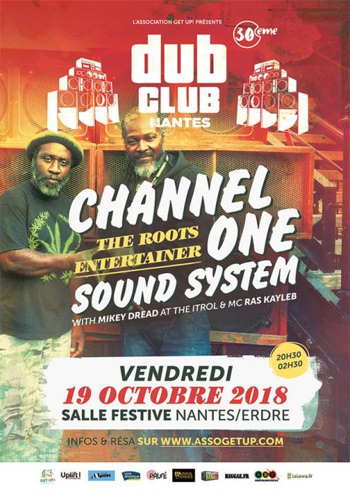 Nantes Dub Club #30 avec Channel One