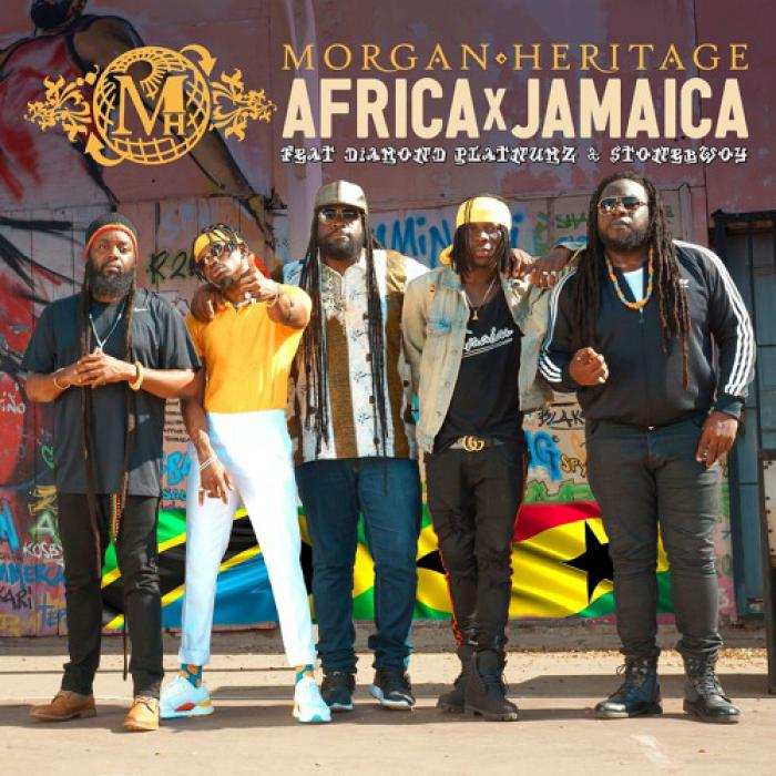 Morgan Heritage en feat avec 2 artistes africains