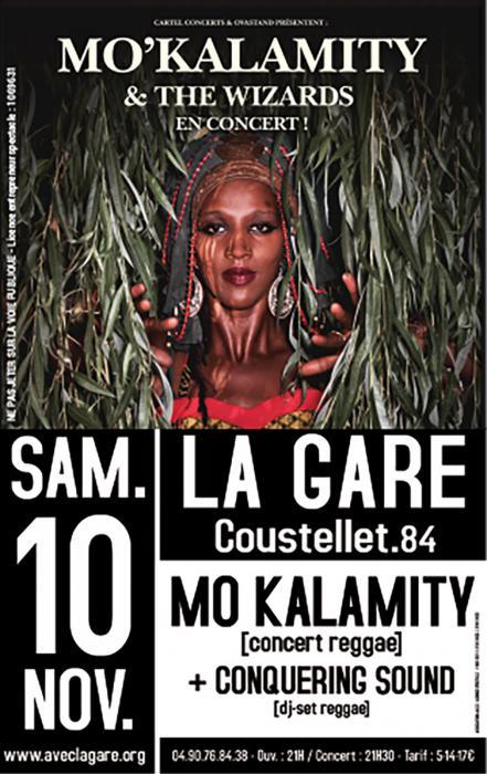 Mo'Kalamity à La Gare de Coustellet : places à gagner