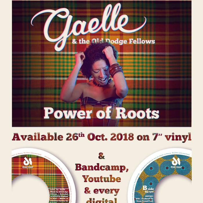 Gaëlle & the Old Dodge Fellows : 'Power of Roots'