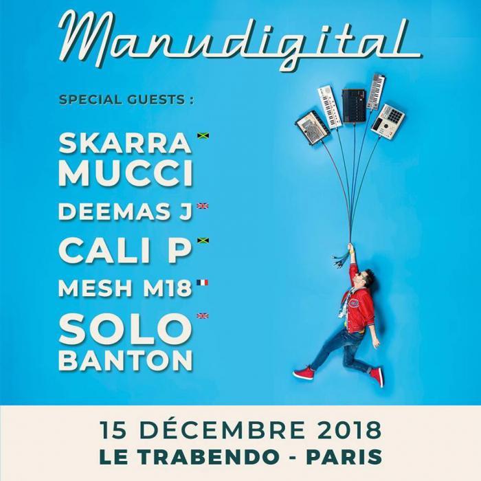 Places à gagner pour la release party de Manudigital