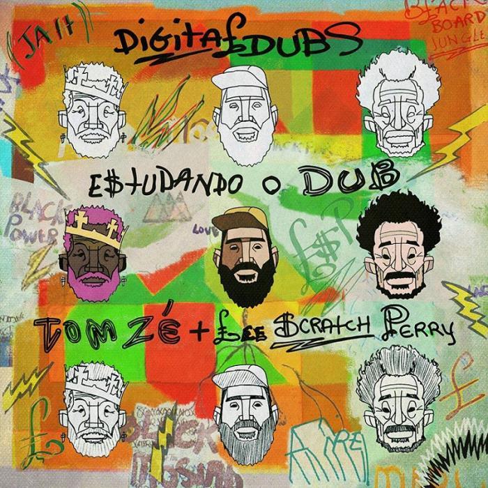 Digitaldubs ft. Tom Zé & Lee Scratch Perry : Jamaica meets Brésil !