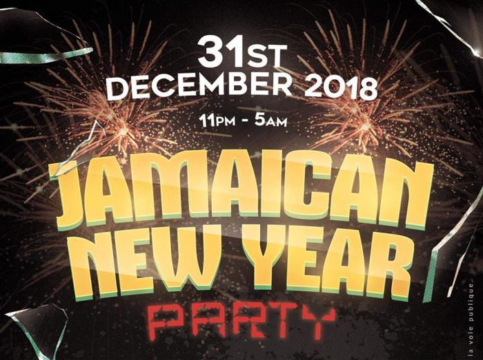 Jamaican New Year Party à Paris