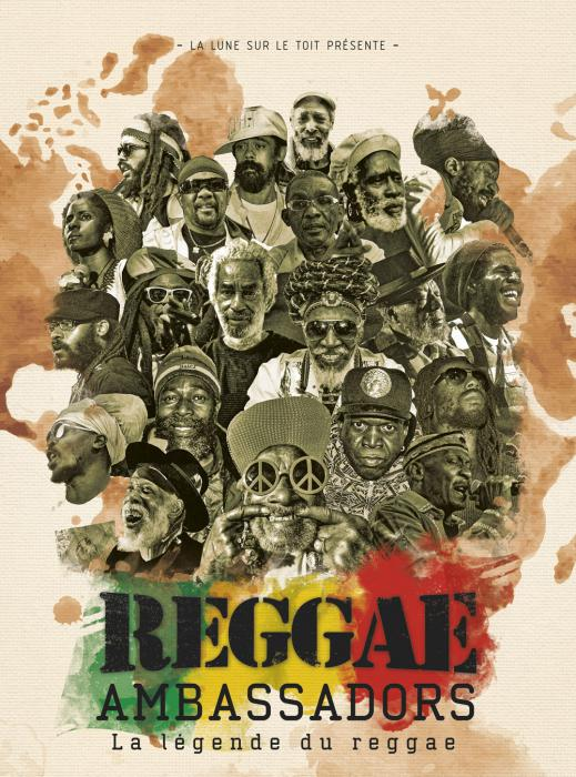 Reggae Ambassadors Diffusion Exclusive et Gratuite ce vendredi