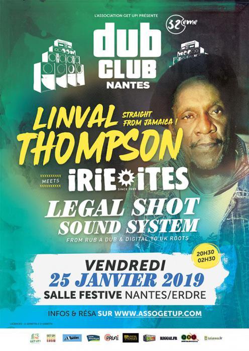 Nantes Dub Club #32 avec Linval Thompson