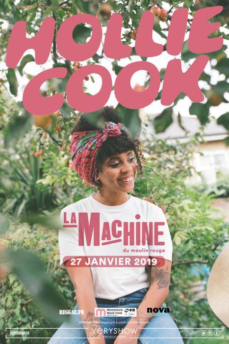 Hollie Cook en concert à Paris le 27 janvier