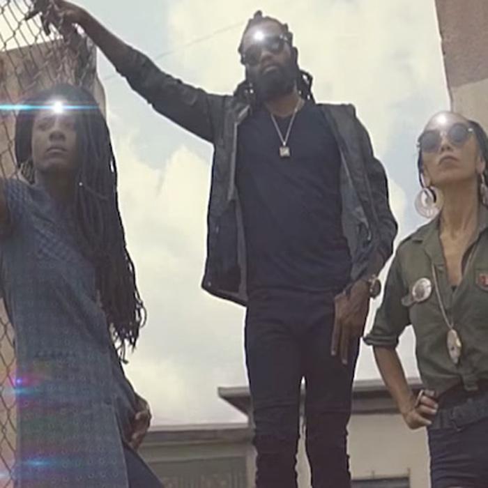 Nattali Rize, Dre Island & Jah9 dans un clip