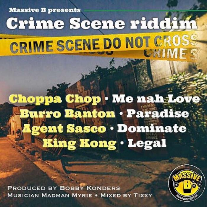 Crime Scene Riddim chez Massive B