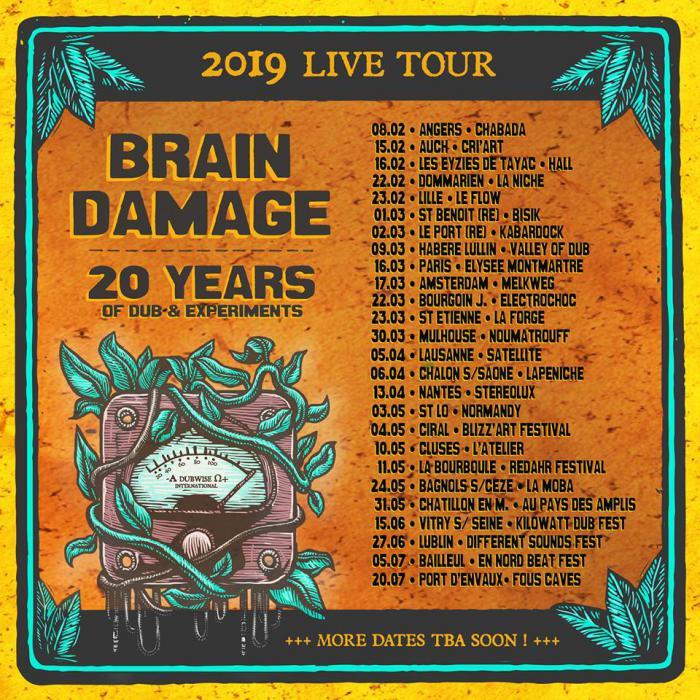 Brain Damage : la tournée des 20 ans