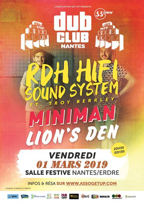 Nantes Dub Club #33 avec RDH Hi Fi
